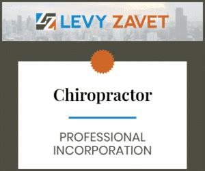 Chiropractors [Chiropractor Professional Corporation]