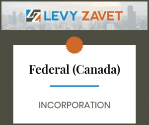 Federal [Federal (Canadian) Incorporation]