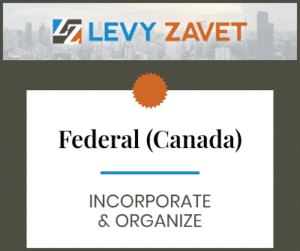 Federal (Canadian) Incorporate & Organize